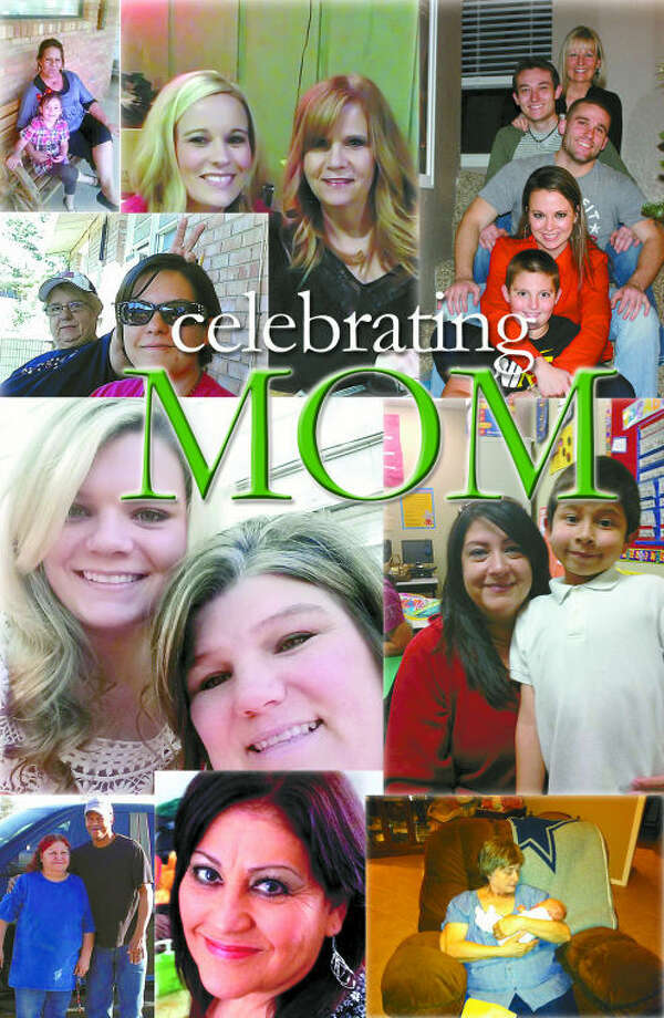 Reporter-Telegram readers sent in photos of their moms for a Mother's Day photo spread.