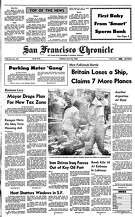 Historic Chronicle Front Page May 25, 1982  Parking meter gang  Chron365, Chroncover