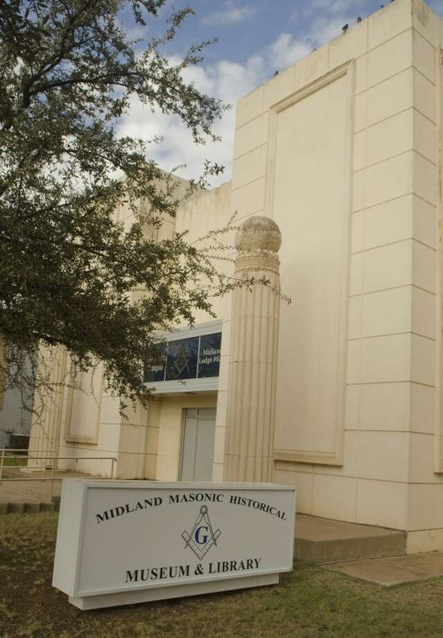 The Midland Masonic Lodge is on Wall Street. Photo: Tim Fischer/Reporter-Telegram