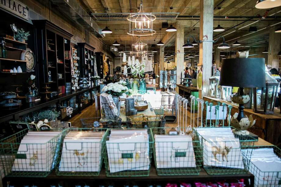 The Interior Of Magnolia Market At Silos Owned By Chip And Joanna Gaines