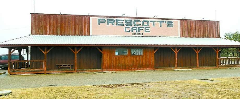 Prescott's Cafe. Photo by Tim Fischer/Midland Reporter-Telegram Photo: Tim Fischer