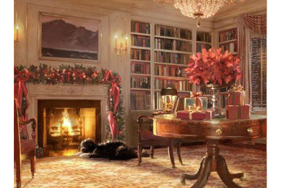 The 2011 Obama holiday card. Photo: (White House)
