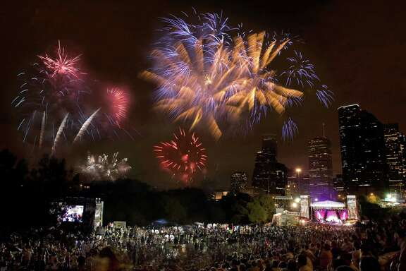 Freedom Over Texas has one of the state's biggest fireworks displays.