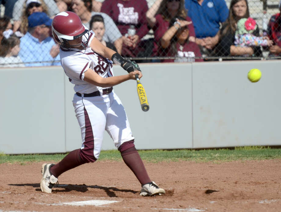 Lee junior Destiny Reyes was a second team selection as a catcher on the 2-5A All-District team. James Durbin/Reporter-Telegram Photo: JAMES DURBIN