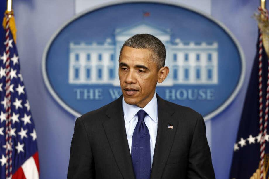 President Barack Obama Photo: Charles Dharapak