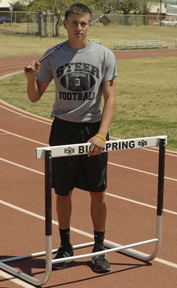 Devin Roberson, all-around Big Spring athlete. Tim Fischer\Reporter-Telegram Photo: Tim Fischer