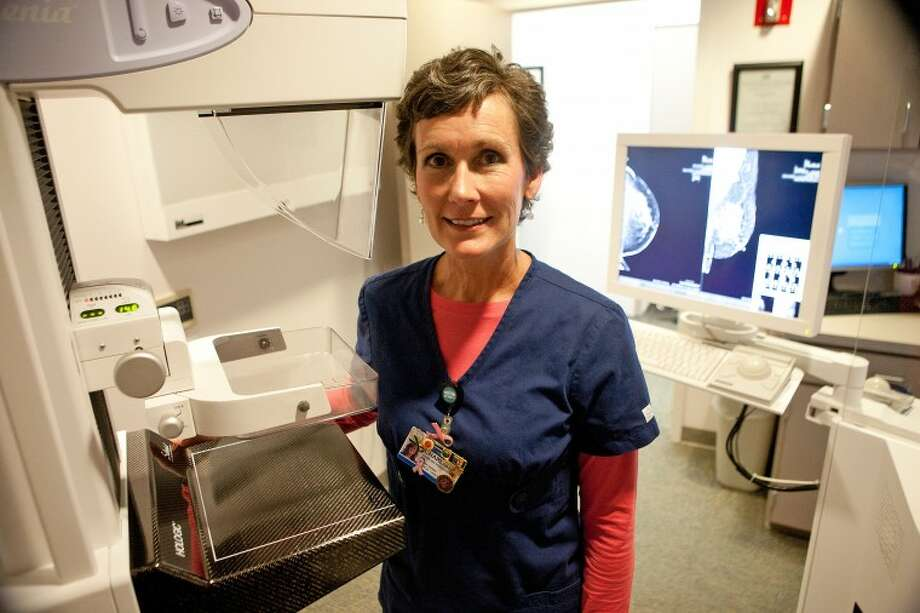 Charliss Rodgers is a Nurse Navigator at Allison Women's Imaging Center who guides patients, who have been diagnosed with breast cancer, along their journey. Cindeka Nealy/Reporter-Telegram Photo: Cindeka Nealy