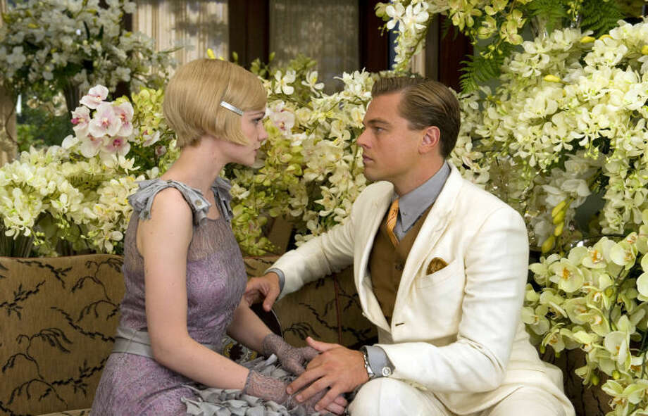 "This film publicity image released by Warner Bros. Pictures shows Carey Mulligan as Daisy Buchanan, left, and Leonardo DiCaprio as Jay Gatsby in a scene from ""The Great Gatsby."" The film will be shown at the Cannes Film Festival running from May 15 to May 26. (AP Photo/Warner Bros. Pictures, Daniel Smith) Photo: Daniel Smith"