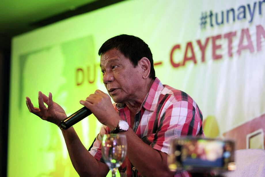Unofficial tallies give Rodrigo Duterte a commanding lead, and he likely will become the Philippines' next president. The 71-year-old mayor of Davao City, who has promised to completely stamp out crime and corruption in just six months, is seen as willing to challenge the status quo. Photo: Veejay Villafranca, Stringer / © 2016 Bloomberg Finance LP