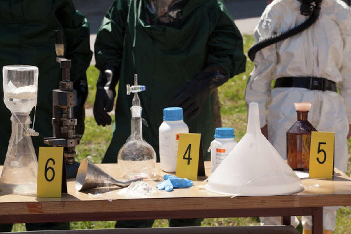 (Photo Illustration) Illegal meth lab