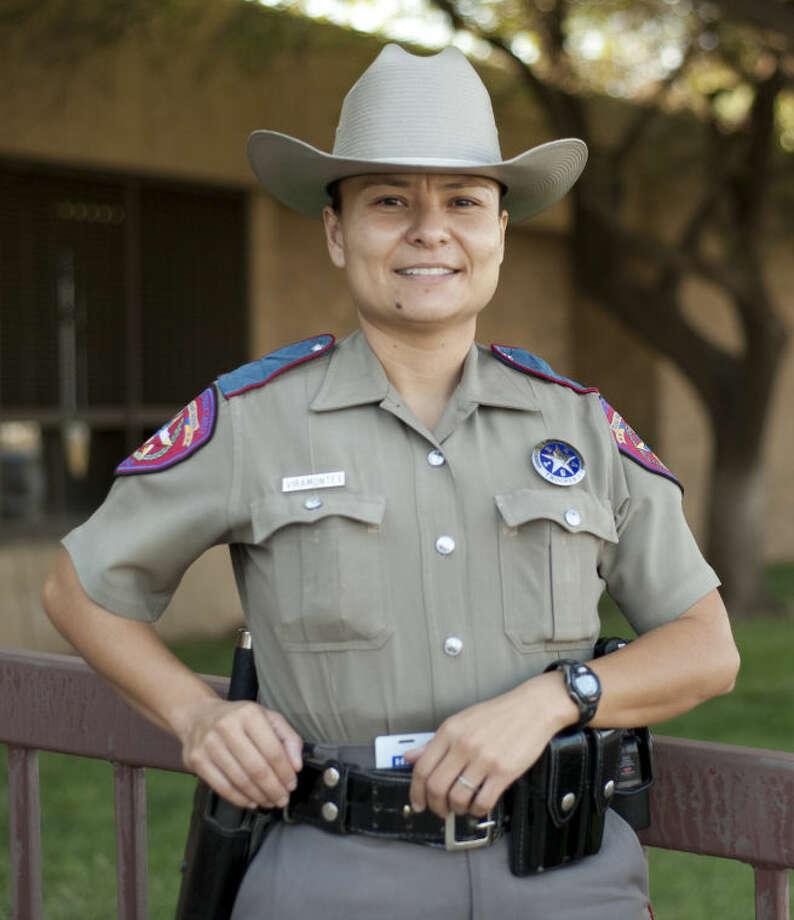 DPS Trooper Elena Viramontes, new PIO/Safety Education officer. Tim Fischer\Reporter-Telegram Photo: Tim Fischer