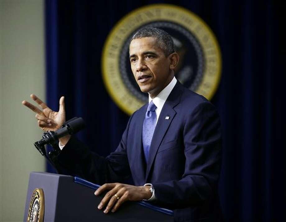 President Barack Obama File Photo Photo: Pablo Martinez Monsivais / AP2013
