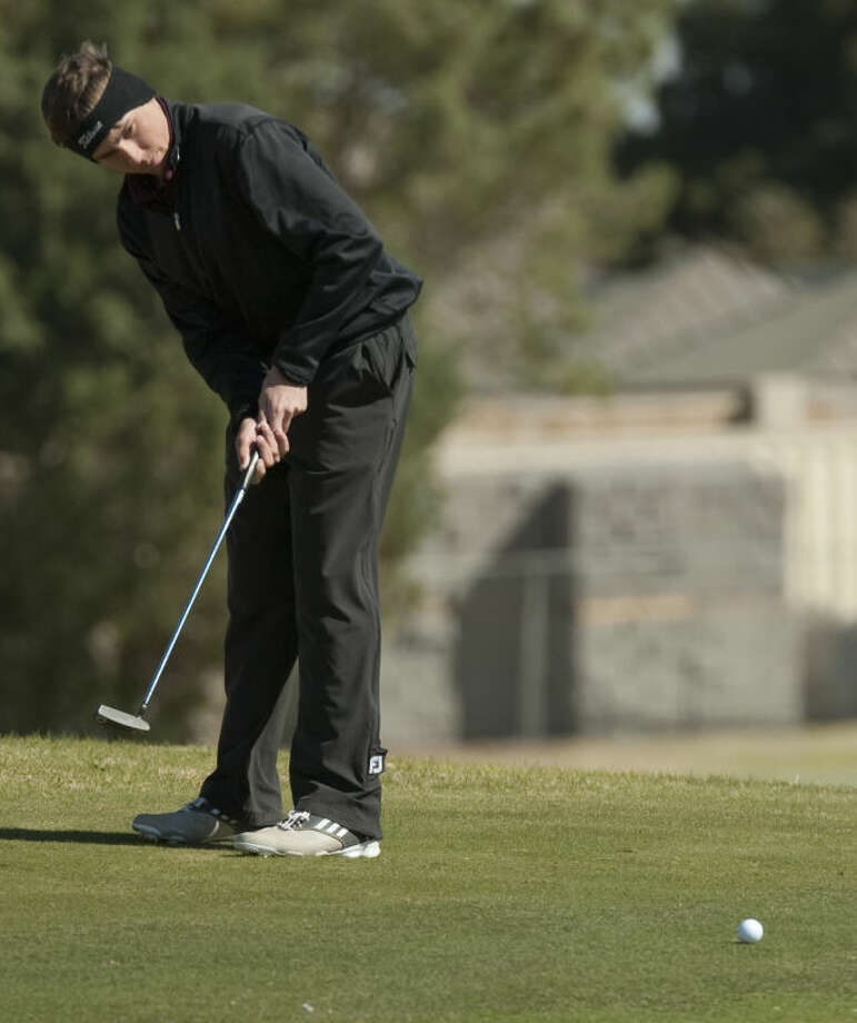 Lee's Alex Krol, seen here last year, led the Rebels with a 76 in the first round of the Matt Hicks Paso Del Norte Tournament in El Paso on Friday.Tim Fischer\Reporter-Telegram Photo: Tim Fischer