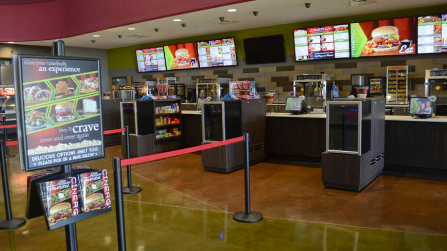 Cinergy Movie Complex opens Friday. Tim Fischer\Reporter-Telegram Photo: Tim Fischer