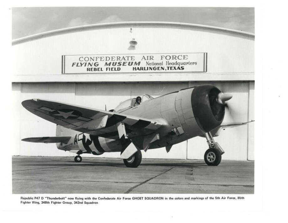 1957:Steeped in camaraderie, the Confederate Air Force is founded by Lloyd Nolen and four flying friends at Rebel Field, Mercedes, in the Rio Grande Valley. The aviators purchase a World War II North American P-51D Mustang for $1,500.