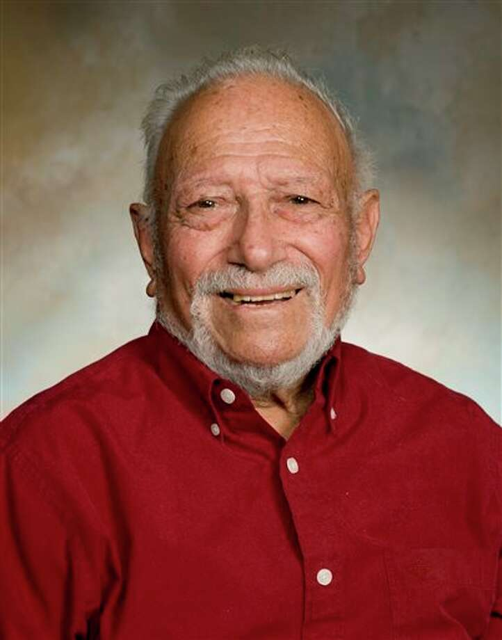 This 2011 photo provided by Texas A&M University at Galveston shows Sammy Ray. Ray, a founder of Texas A&M University at Galveston whose marine research brought him international acclaim, has died. He was 94. (AP Photo/Texas A&M University at Galveston) Photo: HONS / Texas A&M University at Galveston