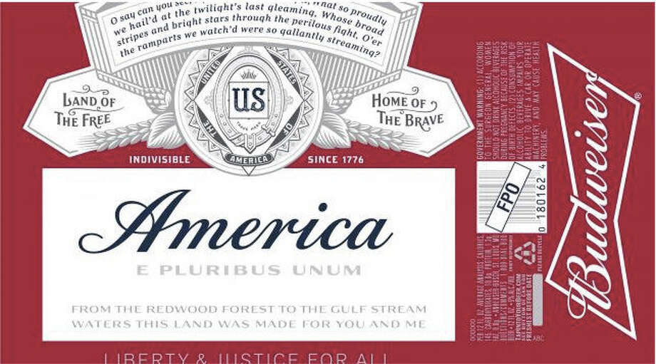 "AB Inbev says it will replace the word ""Budweiser"" with ""America"" through the November elections. Photo: Alcohol Tobacco Tax And Trade Bu / The Washington Post"