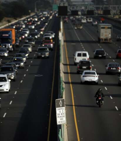Whats An Hov Lane Caltrans State Of California >> Just As You Suspected Carpool Cheating Is Rampant Study Shows Sfgate
