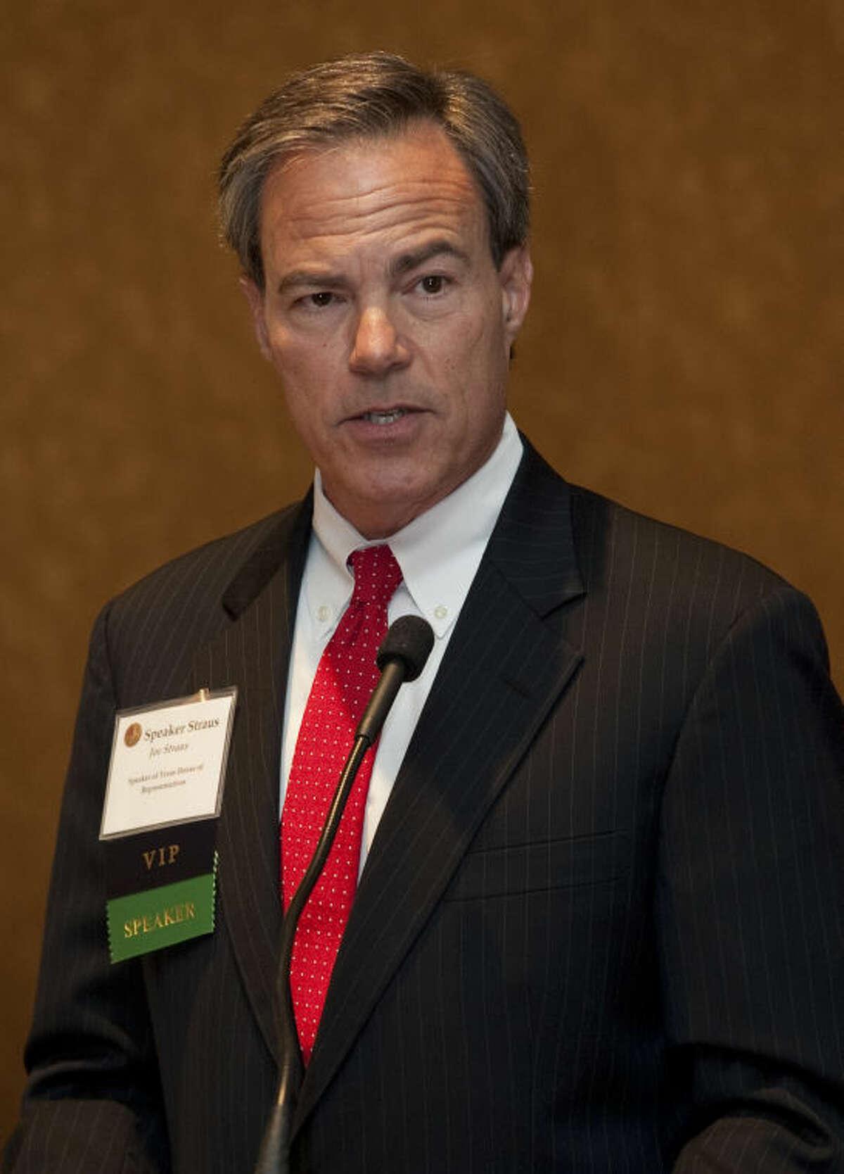 Texas Speaker of the House Joe Strauss speaks Thursday at the annual Permian Basin Petroleum Association meeting. Tim Fischer\Reporter-Telegram