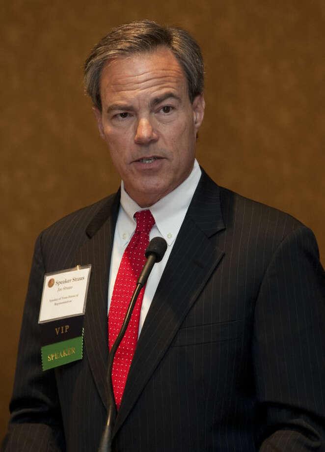 Texas Speaker of the House Joe Strauss speaks Thursday at the annual Permian Basin Petroleum Association meeting. Tim Fischer\Reporter-Telegram Photo: Tim Fischer