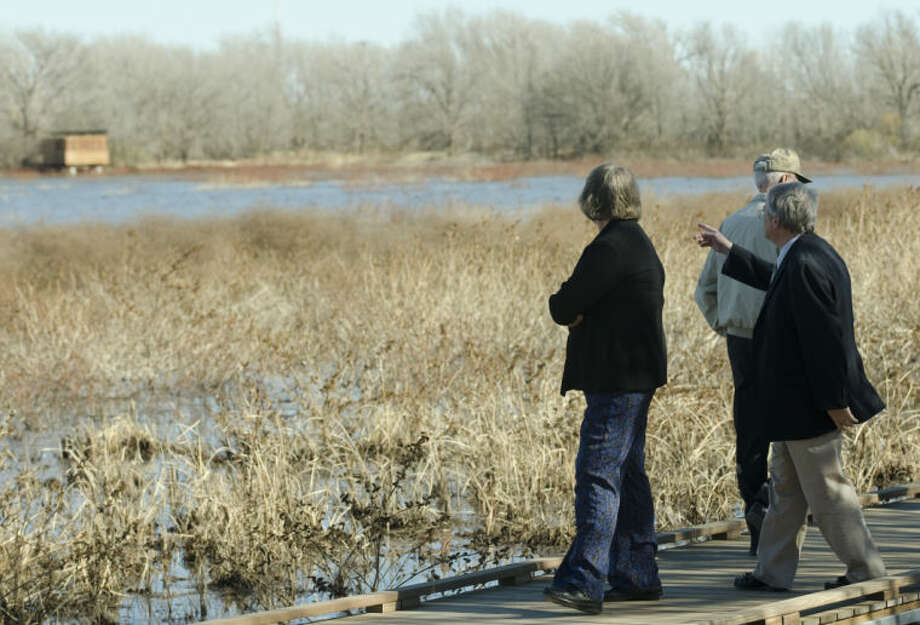 Midlanders and area naturalists get a tour of the newly opened I-20 Wildlife Preserve in this MRT file photo. Tim Fischer\Reporter-Telegram Photo: Tim Fischer