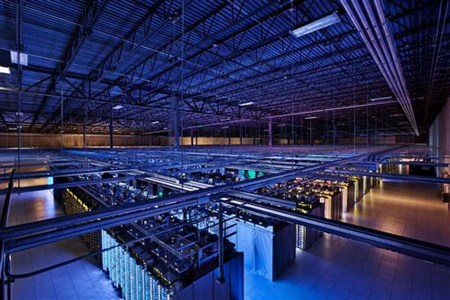This undated photo provided by Google shows a Google data center in Hamina, Finland. The Washington Post is reporting Wednesday, Oct. 30, 2013, that the National Security Agency has secretly broken into the main communications links that connect Yahoo and Google data centers around the world. The Post cites documents obtained from former NSA contractor Edward Snowden and interviews with officials. (AP Photo/Google) Photo: Uncredited / A2012