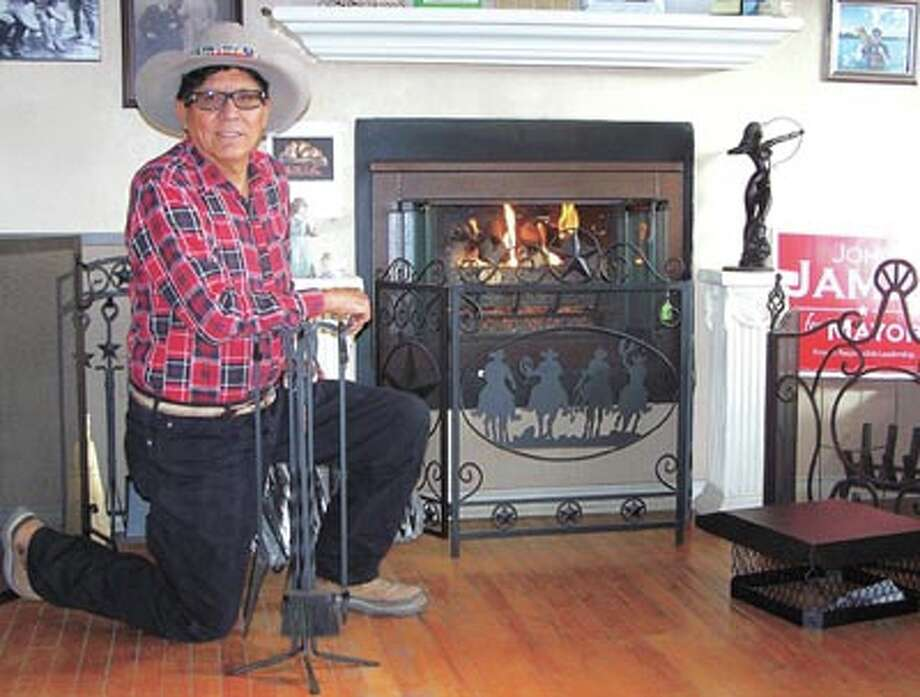 Bother-free gas logs are a specialty at Bill's Fireplace Center, 1509 North Big Spring. Owner Bill Rodriguez is ready to install logs and to other fireplace work.