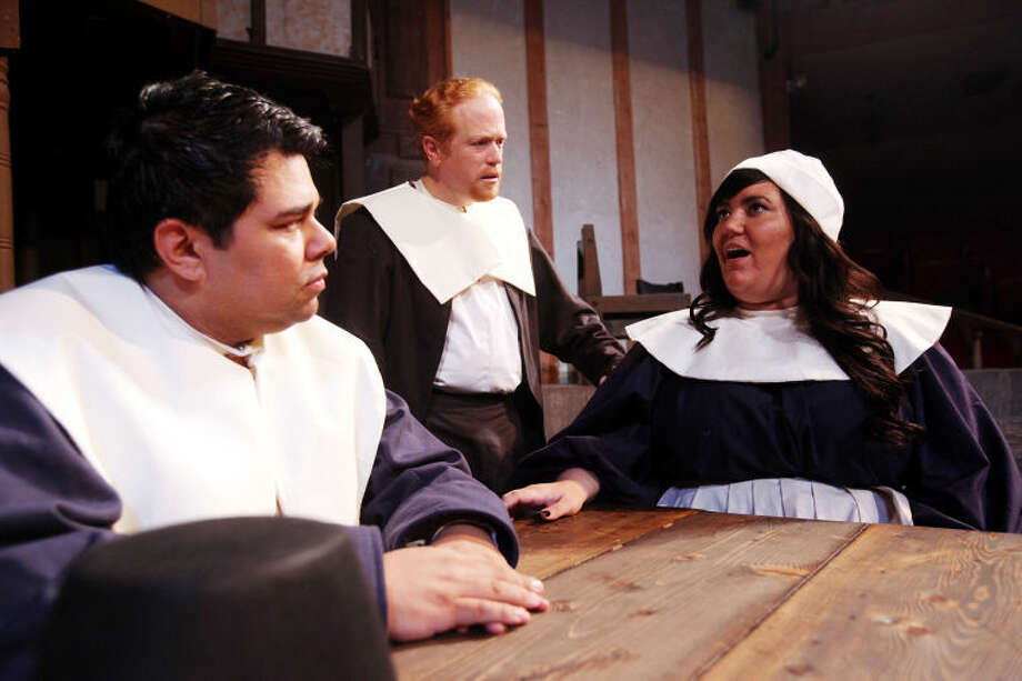 "Globe Theatre in Odessa is presenting ""The Crucible"" at 8 p.m. on Friday and Saturday, and 2:30 p.m. on Sunday."