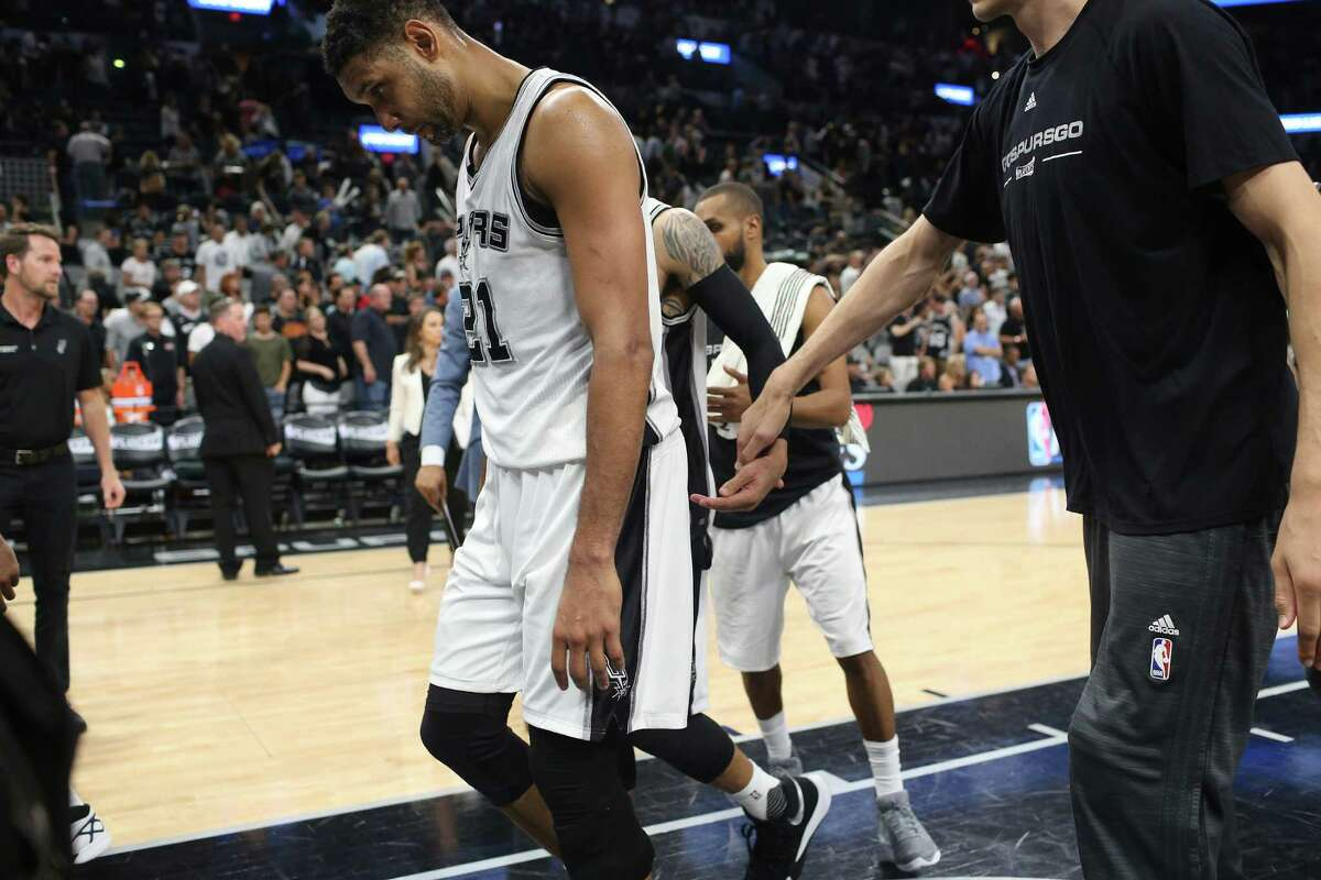 2. Tim Duncan couldn't contribute The greatest player in Spurs history was anything but in this series, and was shut out in a playoff game for the first time in his illustrious 249-game playoff career. The Spurs needed more from their captain to advance.