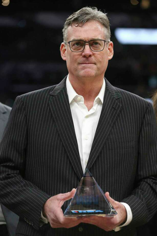 President: R.C. Buford The logical choice here would be Gregg Popovich, but here's the thing – Popovich would willingly coach the Knicks before he accepted the position of POTUS. The spotlight just is not his bag, and nowhere is it brighter than in the Oval Office.  Buford isn't exactly a moth to the light either, but he would probably do the job if you asked politely.  And really, who better than Buford? The man could probably trade Idaho and a future territory to be named for France. He is a master of cultivating talent, is a proven winner and the only skeleton in his closet is the Richard Jefferson contract.  Photo: JERRY LARA, Staff / San Antonio Express-News / © 2016 San Antonio Express-News