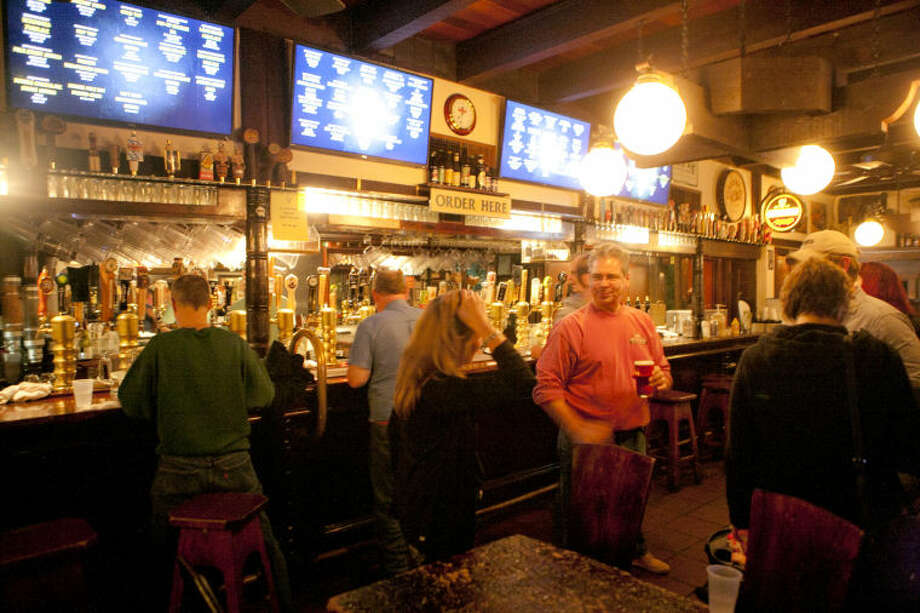 Interior view of the Draught House Pub in Austin. Photo: James Durbin