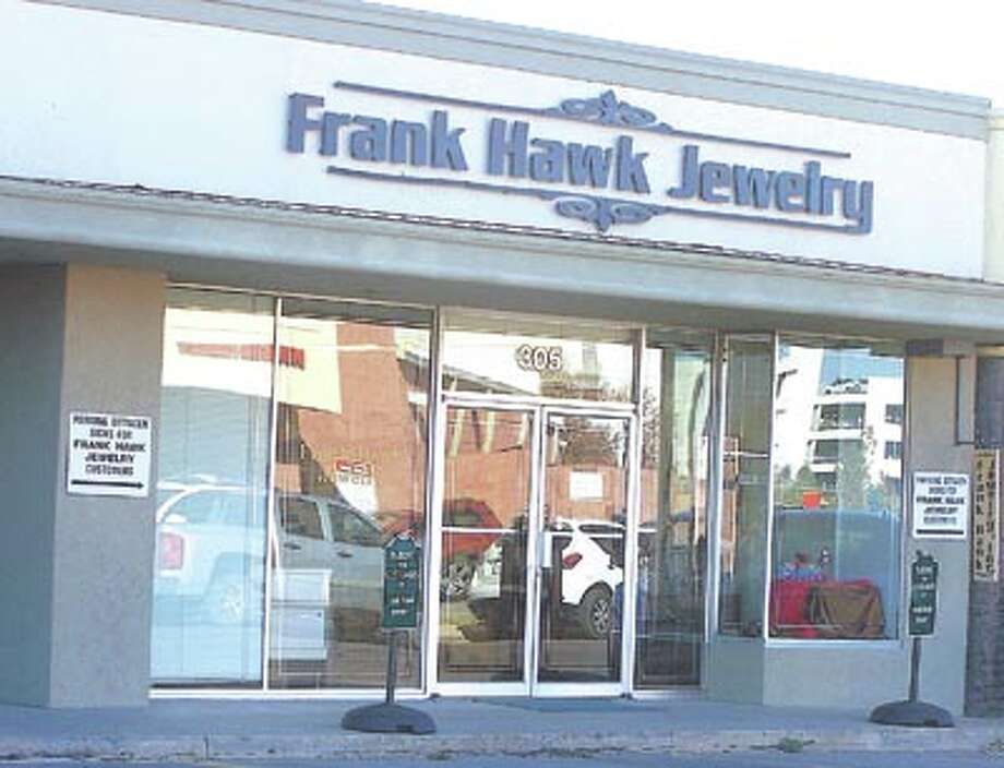 From this store flows 68 years of family tradition—of value in merchandise, quality of service and old-fashioned customer care. Go by Frank Hawk Jewelry for your most special gift-giving.