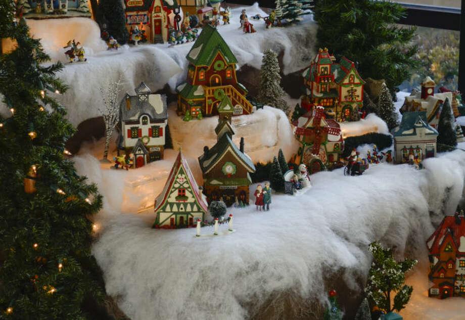 Christmas at the Mansion. Tim Fischer\Reporter-Telegram Photo: Tim Fischer
