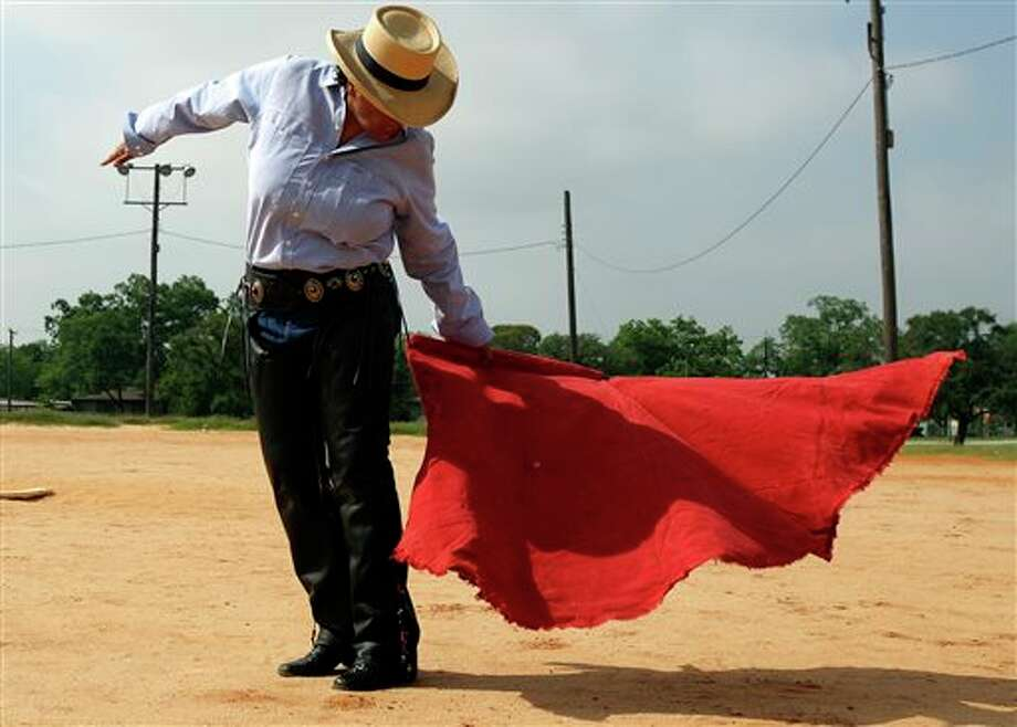 Beatriz Romero moved to Mexico after graduating from high school to learn to become a bullfighter. She had to give up the sport after only 2 years due to her father's failing health. (AP Photo/San Antonio Express-New, Helen Montoya) Photo: Helen L. Montoya / San Antonio Express-News