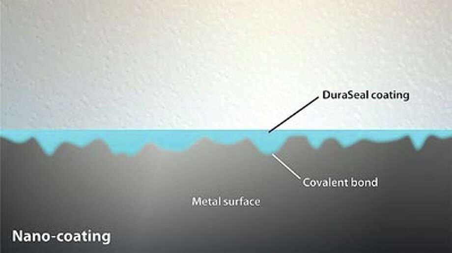 DuraSeal nano-coatings fill crevices and form covalent bonds with the metal substrate.
