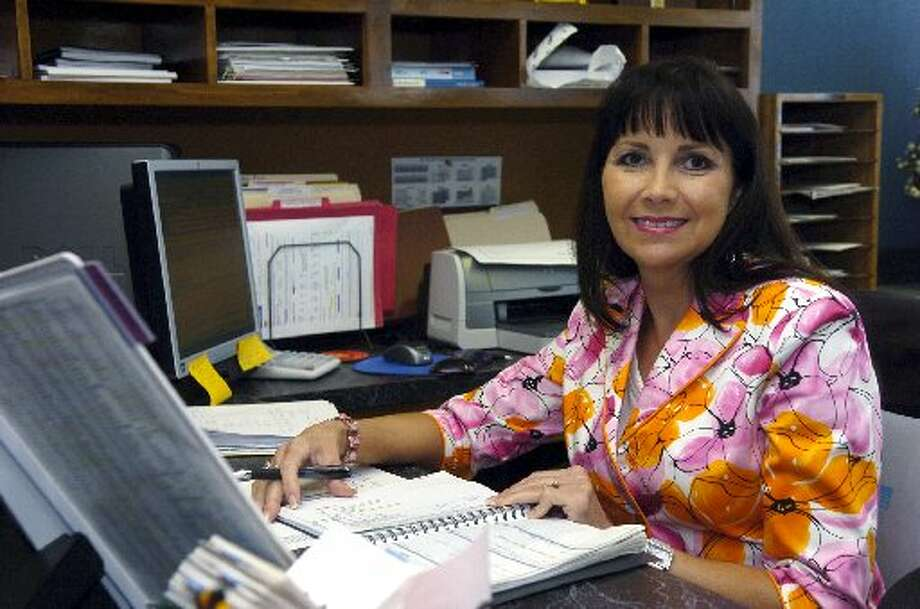 Midland ISD Executive Secretary Karen Sherman pictured in this August 2007 MRT file photo. Sherman has worked in MISD for 31 years and under five superintendents.