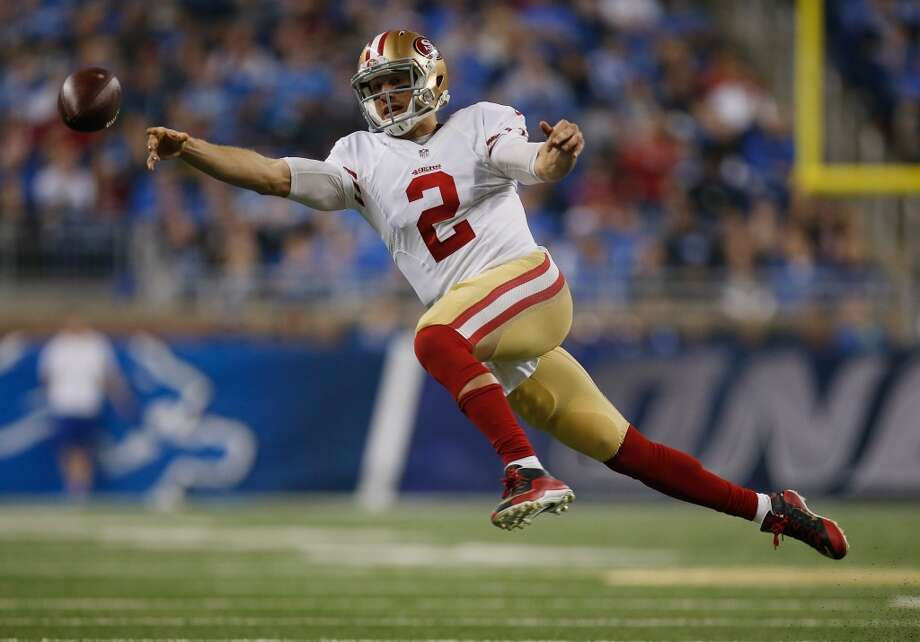 10. Blaine Gabbert will beat out Colin Kaepernick for the starting job: Unfortunately Kaepernick has alienated the organization and some of his teammates. Many didn't like his decision to undergo shoulder surgery and end his season last year. Gabbert, meanwhile, showed inklings of realizing his first-round promise last year. Photo: Gregory Shamus, Getty Images