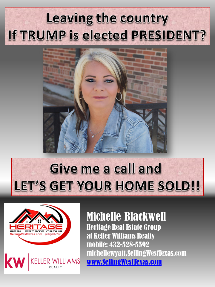 Odessa Realtor Reaches Out To The Nevertrump Movement In