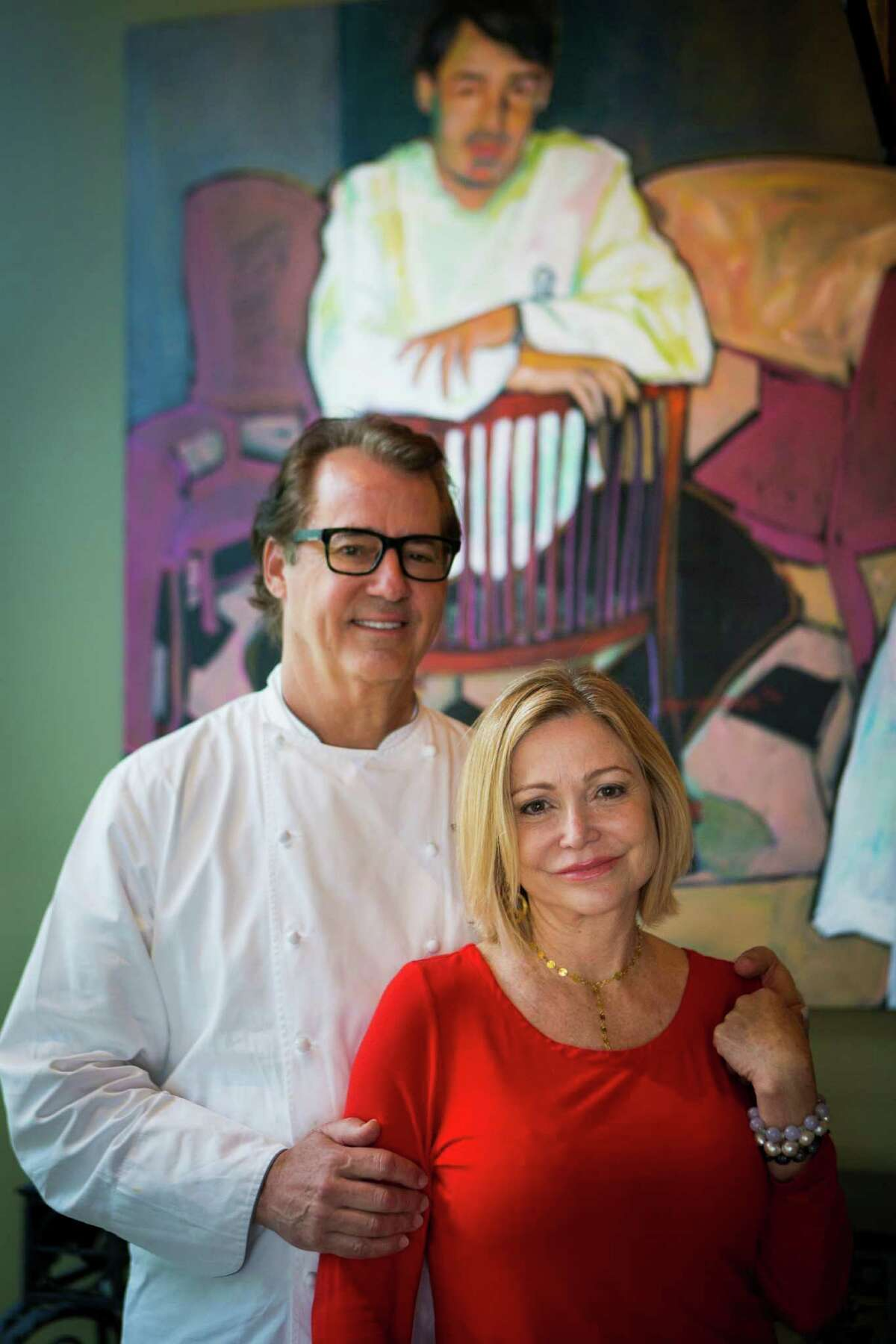 Robert Del Grande and his wife Mimi Del Grande are the owners of the restaurant, RDG & Bar Annie, which had its roots as Cafe Annie and will return to that old name and original menu items. Del Grande, Houston's first celebrity chef, is overseeing the revival of Cafe Annie as part of the restaurant's 35-year anniversary. Monday, May 9, 2016, in Houston. ( Marie D. De Jesus / Houston Chronicle )
