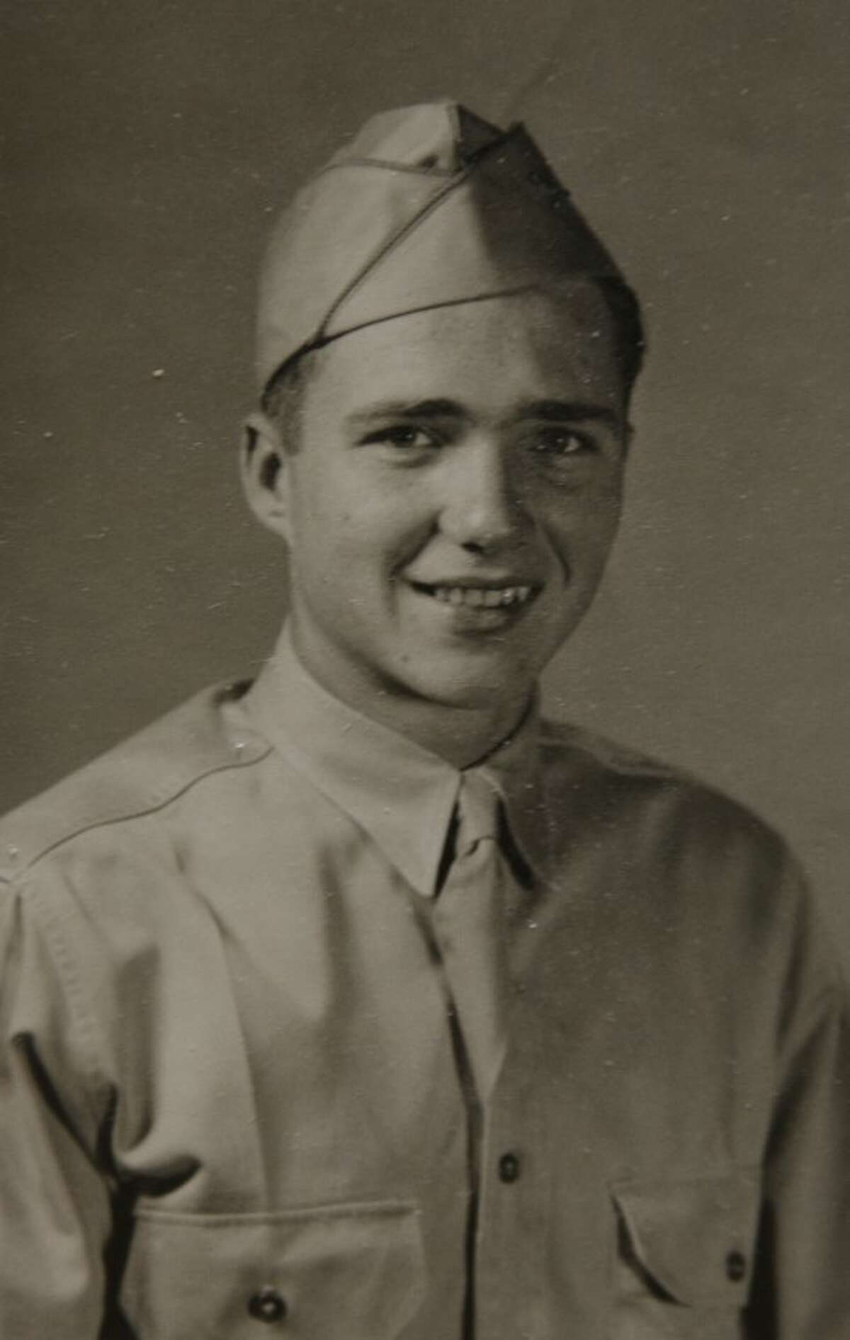 Donald Troy in 1940 when he enlisted in the US Army. Photo by Tim Fischer/Midland Reporter-Telegram