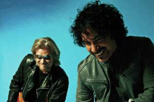 Daryl Hall and John Oates will perform at Webster Bank Arena in Bridgeport on Thursday, June 16, 2016. Mayer Hawthorne will be their special guest at the 7:30 p.m. concert.