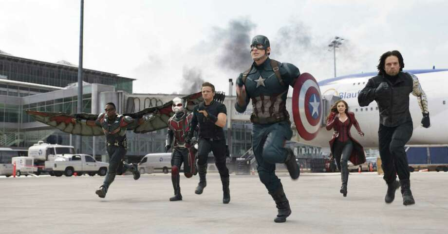 """""""Captain America: Civil War"""" generated $179.1 million in ticket sales during its debut week. Photo: Handout, HO / Marvel Studios"""