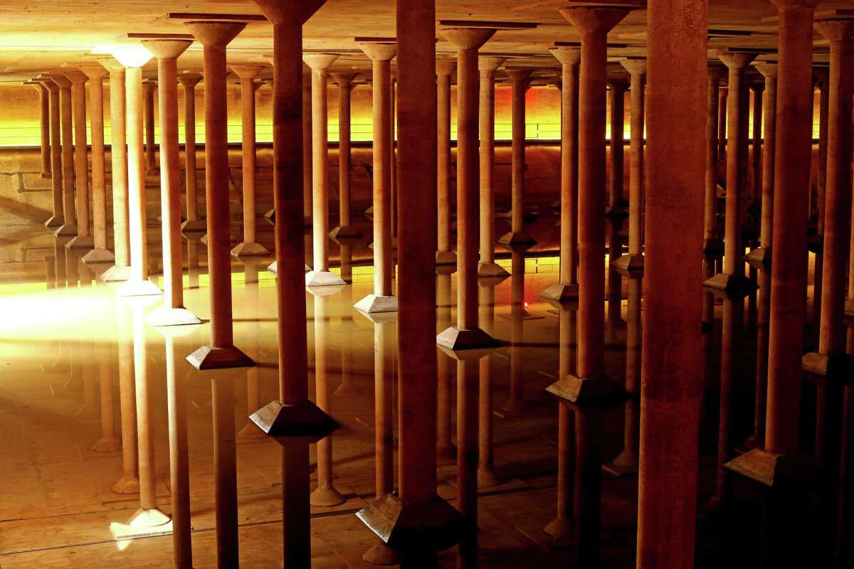 Buffalo Bayou Park Cistern, 105 Sabine St. See the beautiful underground cistern, often times used for art installations. Thirty-minute Cistern History Tours cost $5 for adults, but no children under 9 are allowed.