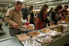 West Texas area first responders are treated to a fish fry luncheon Wednesday during the annual Masonic honoring. Tim Fischer\Reporter-Telegram