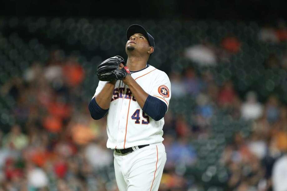 Astros' Michael Feliz striking out batters at elite clip