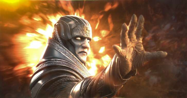 """Apocalypse (Oscar Isaac), the original and most powerful mutant, embarks on a path of global destruction in """"X-Men: Apocalypse,"""" opening at Bay Area theaters on Friday, May 22. Courtesy of Twentieth Century Fox."""