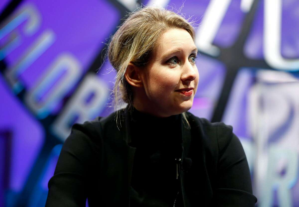Theranos founder Elizabeth Holmes, shown here at the Fortune Global Forum in 2015. The government's case against Theranos for criminal fraud is starting to heat up.