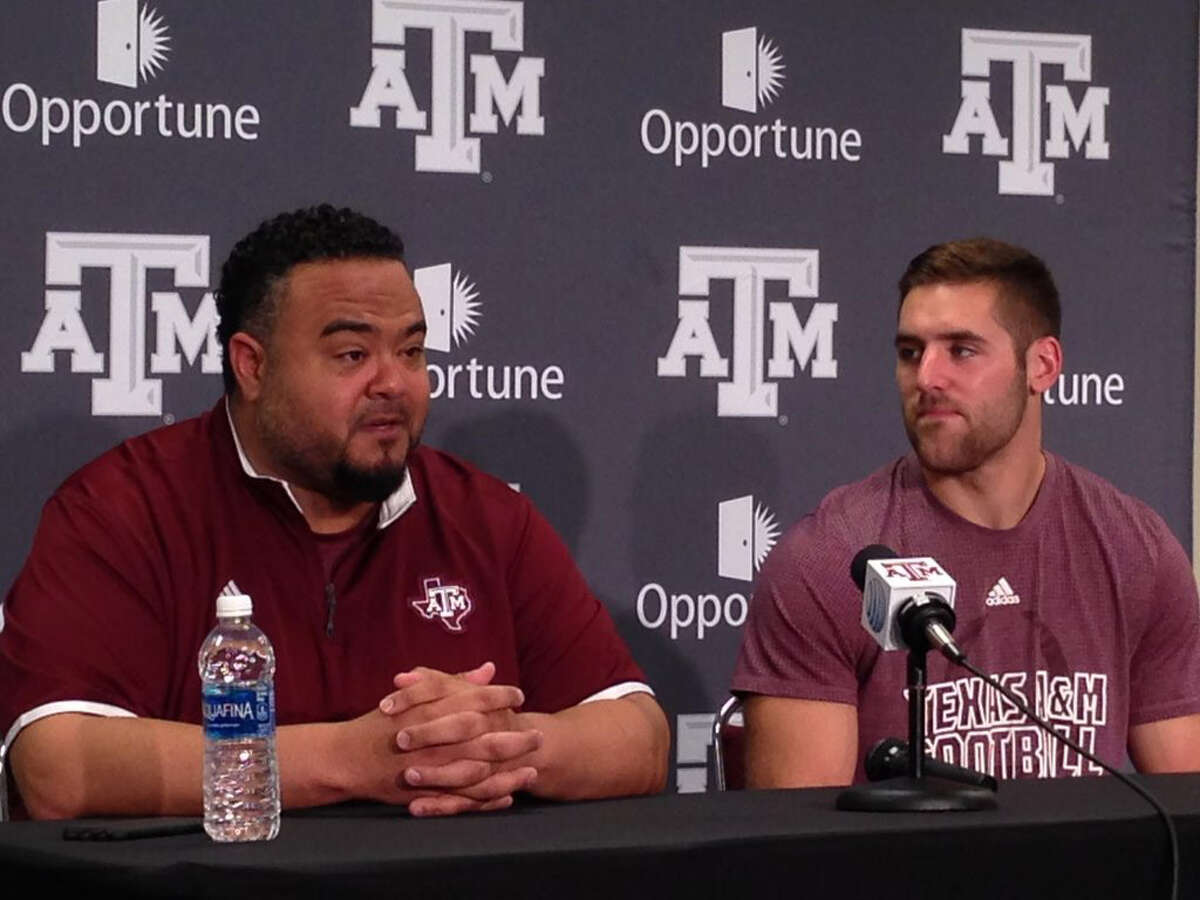 Texas A&M football' player development director Mikado Hinson and quarterback Trevor Knight are part of a group of Aggies heading to Haiti on a mission trip this week.