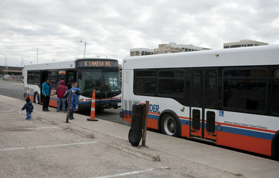 A visually impaired woman has filed a lawsuit against the cities of Midland and Odessa alleging the EZ Rider bus system is partially inaccessible for persons with disabilities. Photo: JAMES DURBIN