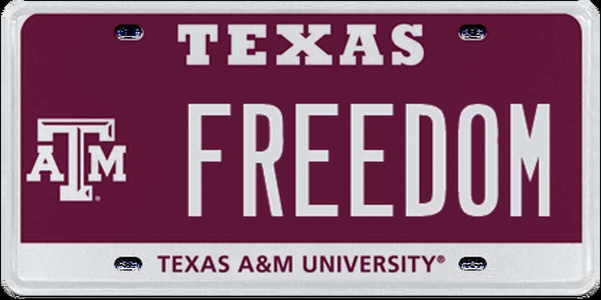 1. Texas A&M University - Maroon